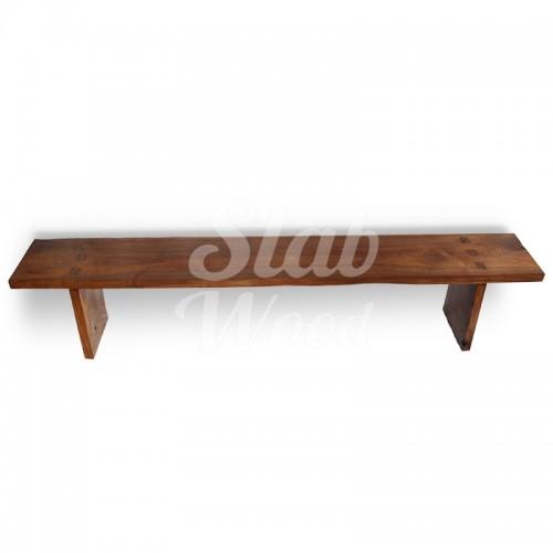 Скамейка из ореха в стиле ЛОФТ №34