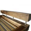 """Кровать """"BALKEN"""" из слэба ореха №135"""