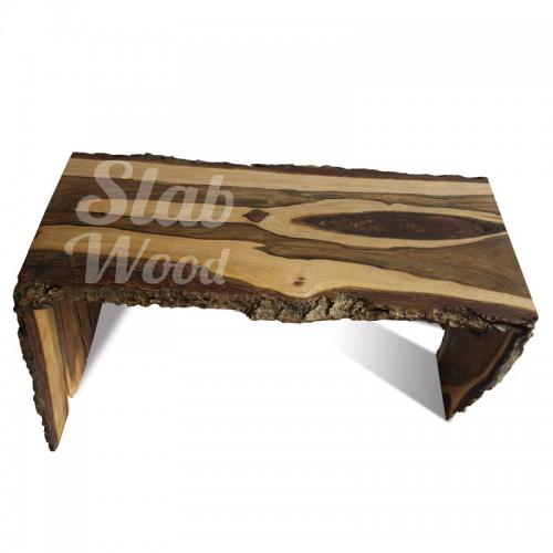 Журнальный столик из ореха в стиле ЭКО №73