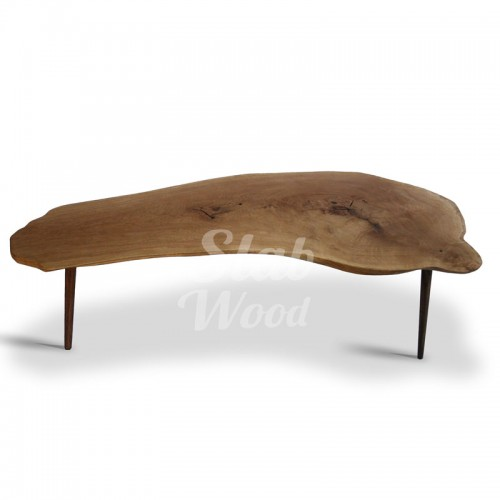 Журнальный столик из слэба дуба в стиле ЭКО №82