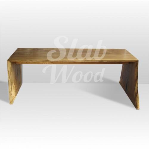 Стол со слэба дуба в стиле Лофт №32
