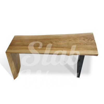 Стол со слэба ясеня в стиле Лофт №43