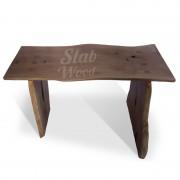 Стол со слэба дуба в стиле ЭКО №98