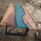 Стол из мореного дуба