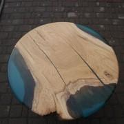 Стол из слэбы дуба