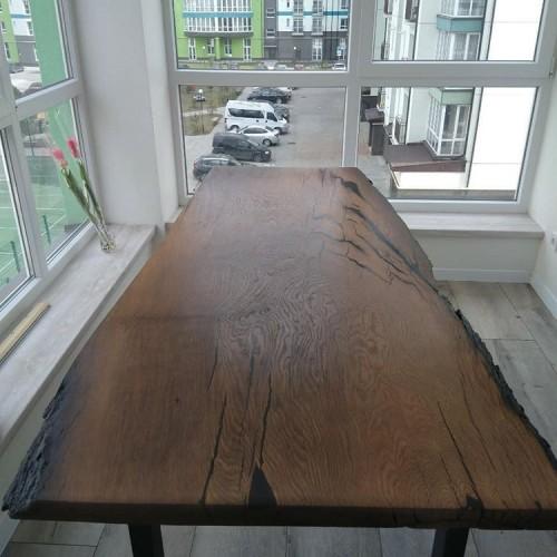 Стол с мореного дуба