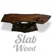 Журнальный столик из мореного дуба в стиле ЭКО №84