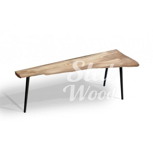 Журнальный столик со слэба ореха в стиле ЭКО №19