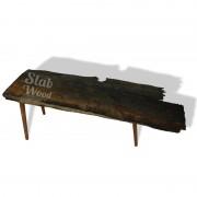 Журнальный столик из дуба в стиле ЛОФТ №46