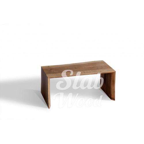 Журнальный столик со слэба ореха в стиле ЭКО №21