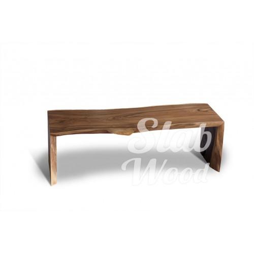 Журнальный столик со слэба ореха в стиле ЭКО №22